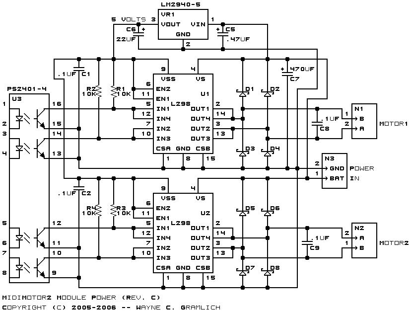 Midimotor2 Module Revision C