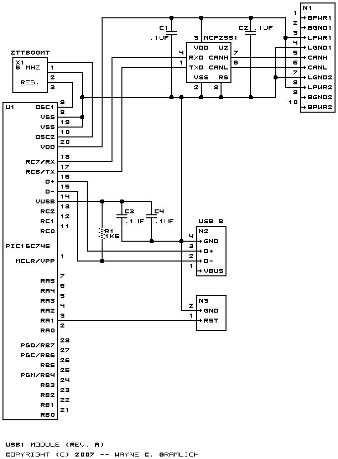 usb1 module  revision a